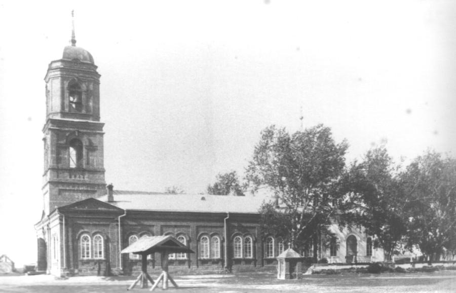 Вознесенская церковь села Вознесенское. Юго-западный вид. 1924 г