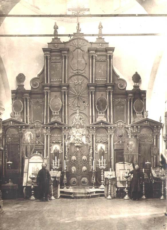 Иконостас Затеченской церкви