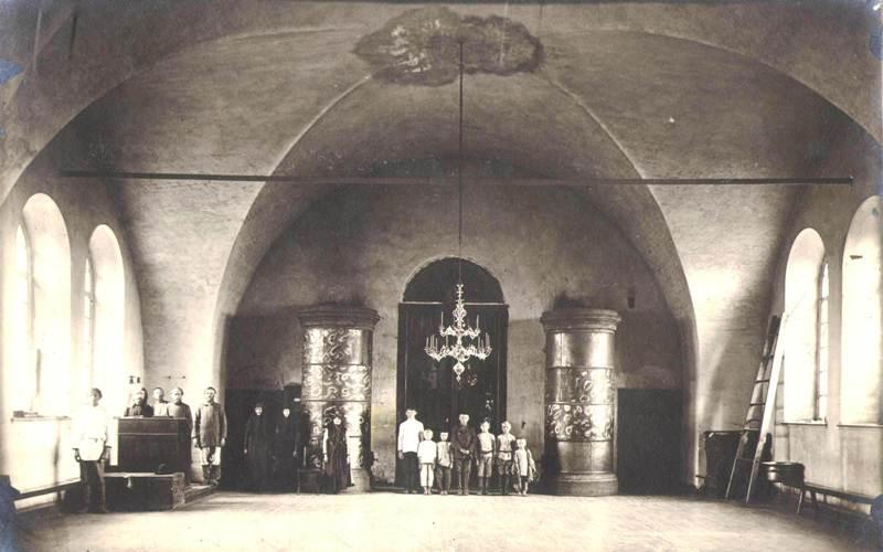 ОФ 2529.191 Церковь в с. Кривском 1923 г.