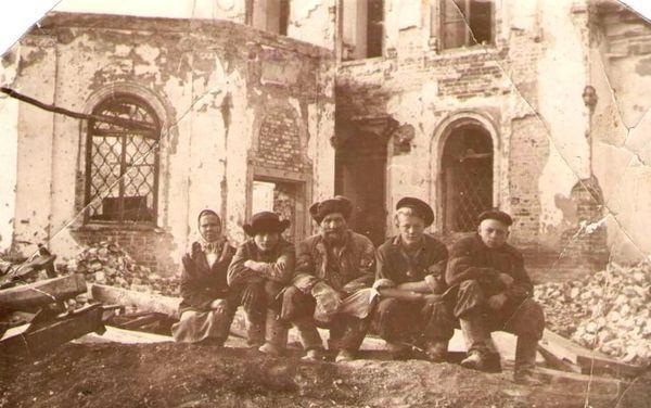 Перестройка здания церкви в клуб 1953-1955 гг