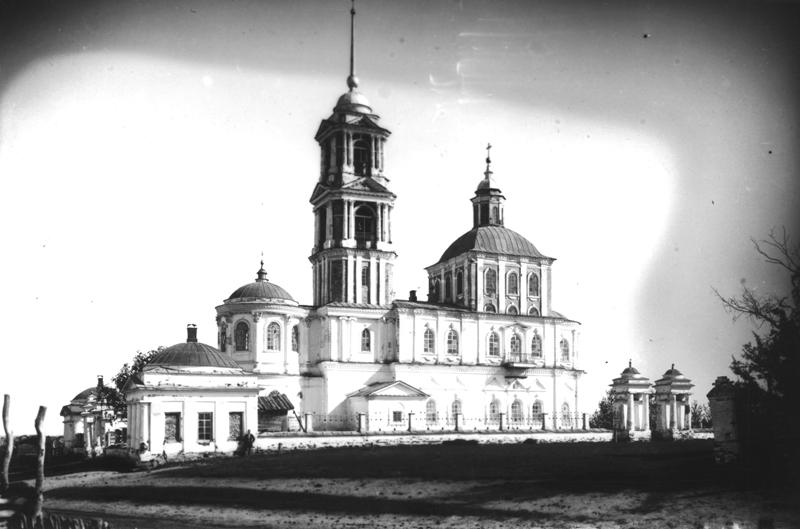 Першинская церковь, ЮЗ вид