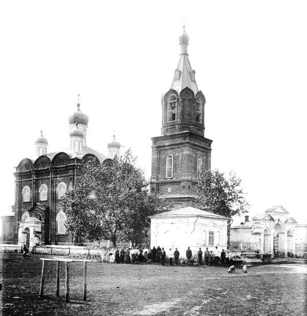 Покрова Пресвятыя Богородицы церковь с. Кривского. Юго- западный вид 1924 г