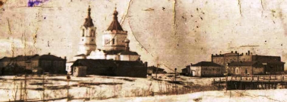 Свято - Георгиевская церковь села Тамакульское 1935 г