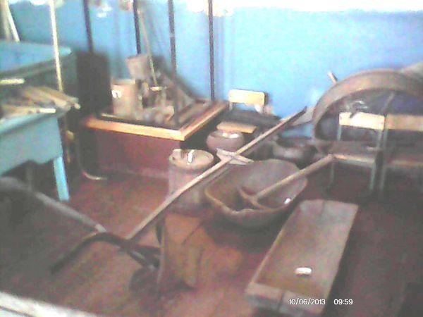Фрагмент экспозиции музея. Орудия труда крестьян