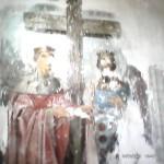 Фреска Св. Цар. Елена и Царь Константин
