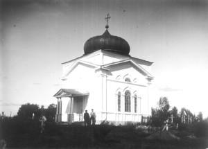 Часовня на кладбище с. Ключевское