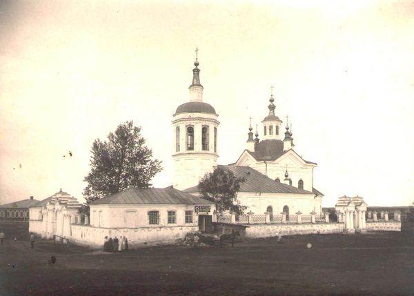 1 Крутихинская церковь. Юго-запад вид. 1924 г. ШКМ КП ОФ 2529-194