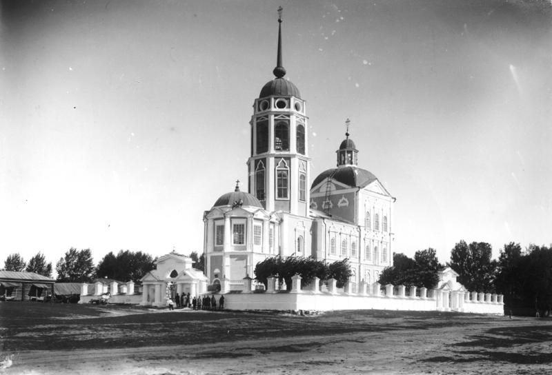 Уксянская церковь, ЮЗ вид, авг 1924