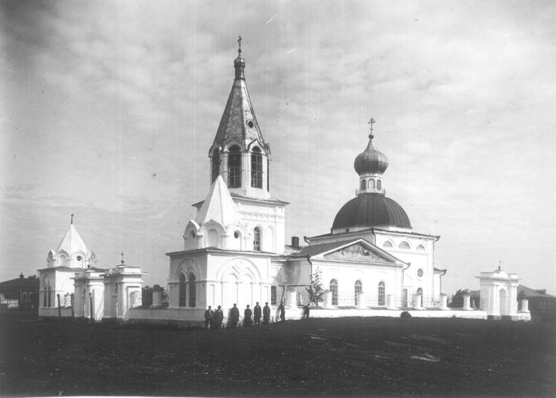Церковь Ключевская юго-западный вид