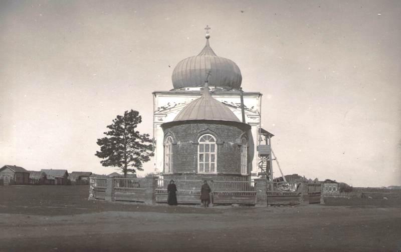 Часовня Пророка Илии села Красноисетского Вост. вид, 1924 г