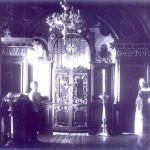 3 Крутихинская церковь. Северный иконостас. Август 1924 г. ШКМ КП ОФ 2529-196