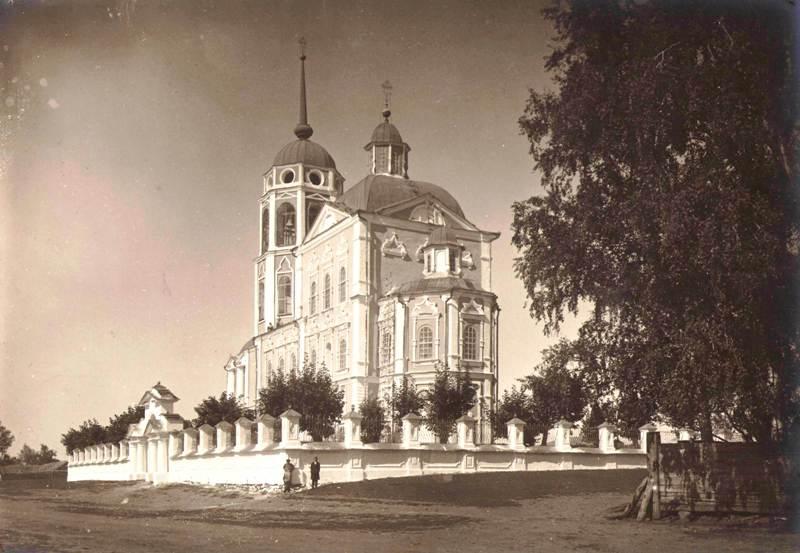 Уксянская церковь, юго-восточный вид. 1924 г.