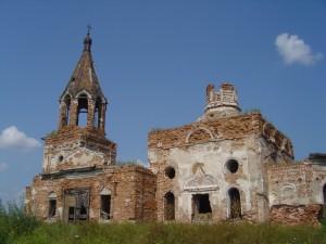 Церковь Ключевская. Юго-западный современный вид