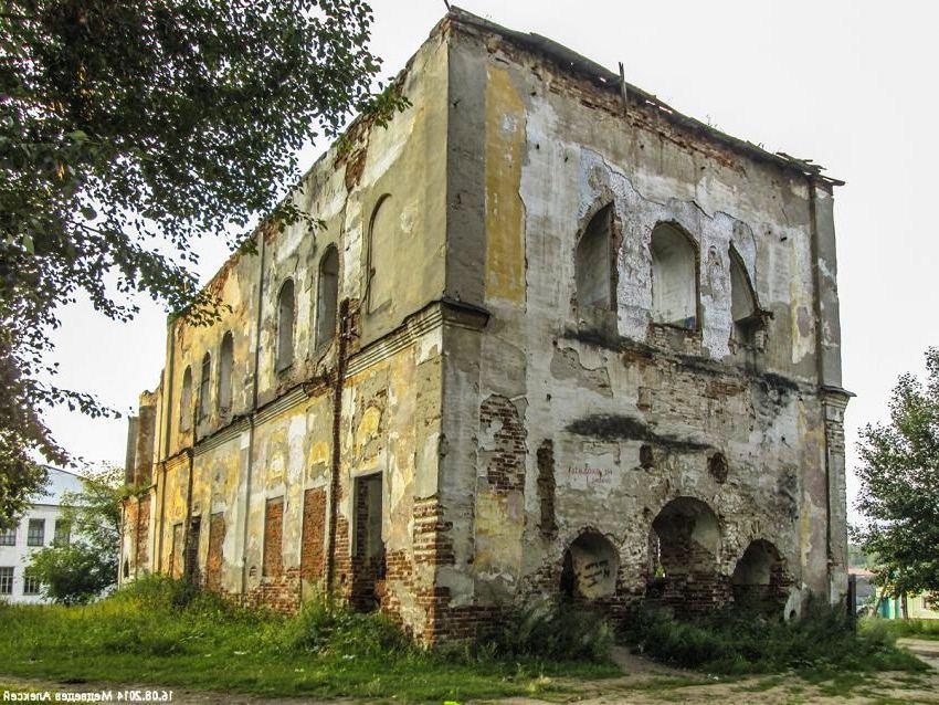 Уксянская церковь юго-восточный вид. Настоящее время