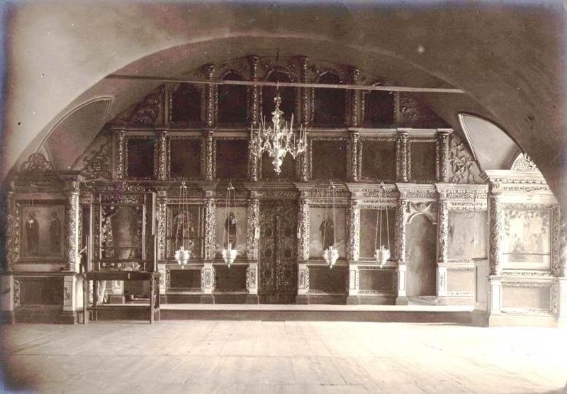 Уксянская церковь Нижний иконостас 1924 г.