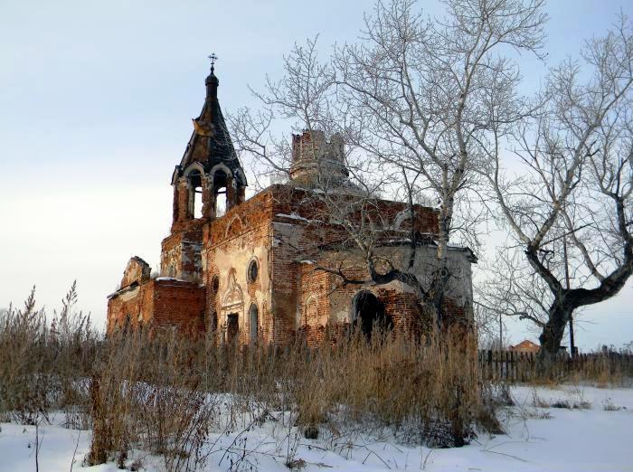 Церковь Ключевская. Юго-восточный современный вид