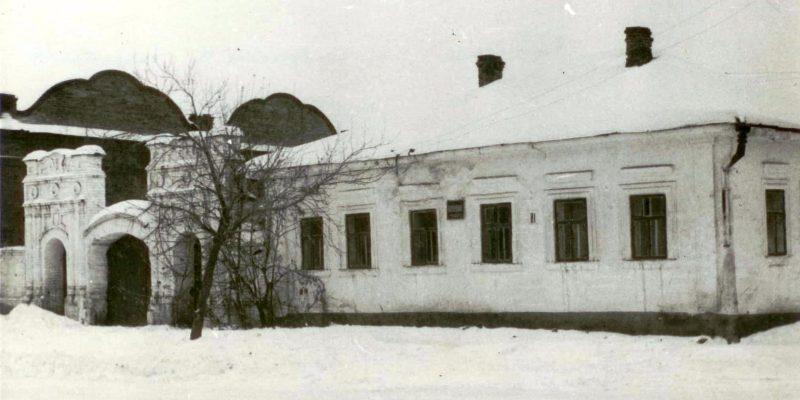 Здание жилого дома купца П.А. Плеханова (в 1960-е годы - интернат ДСШ) не сохранился