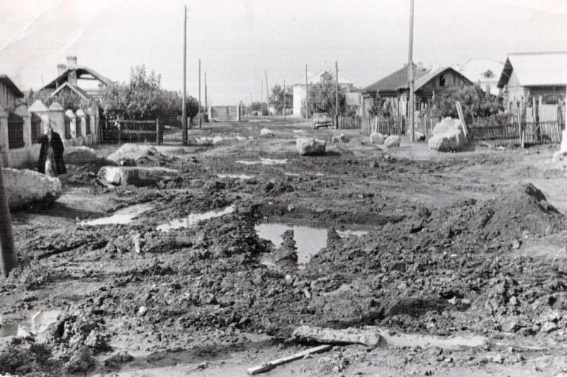ул. Маяковского, 1960-е годы, фото Е.И. Пономарёва