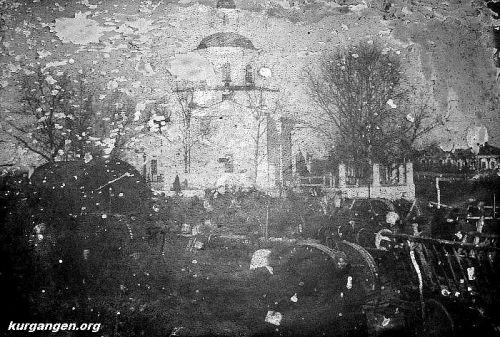 Белоярская церковь. Фото из шк. музея.