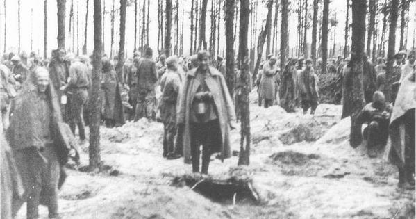 Концлагерь Витцендорф, осень 1941 года